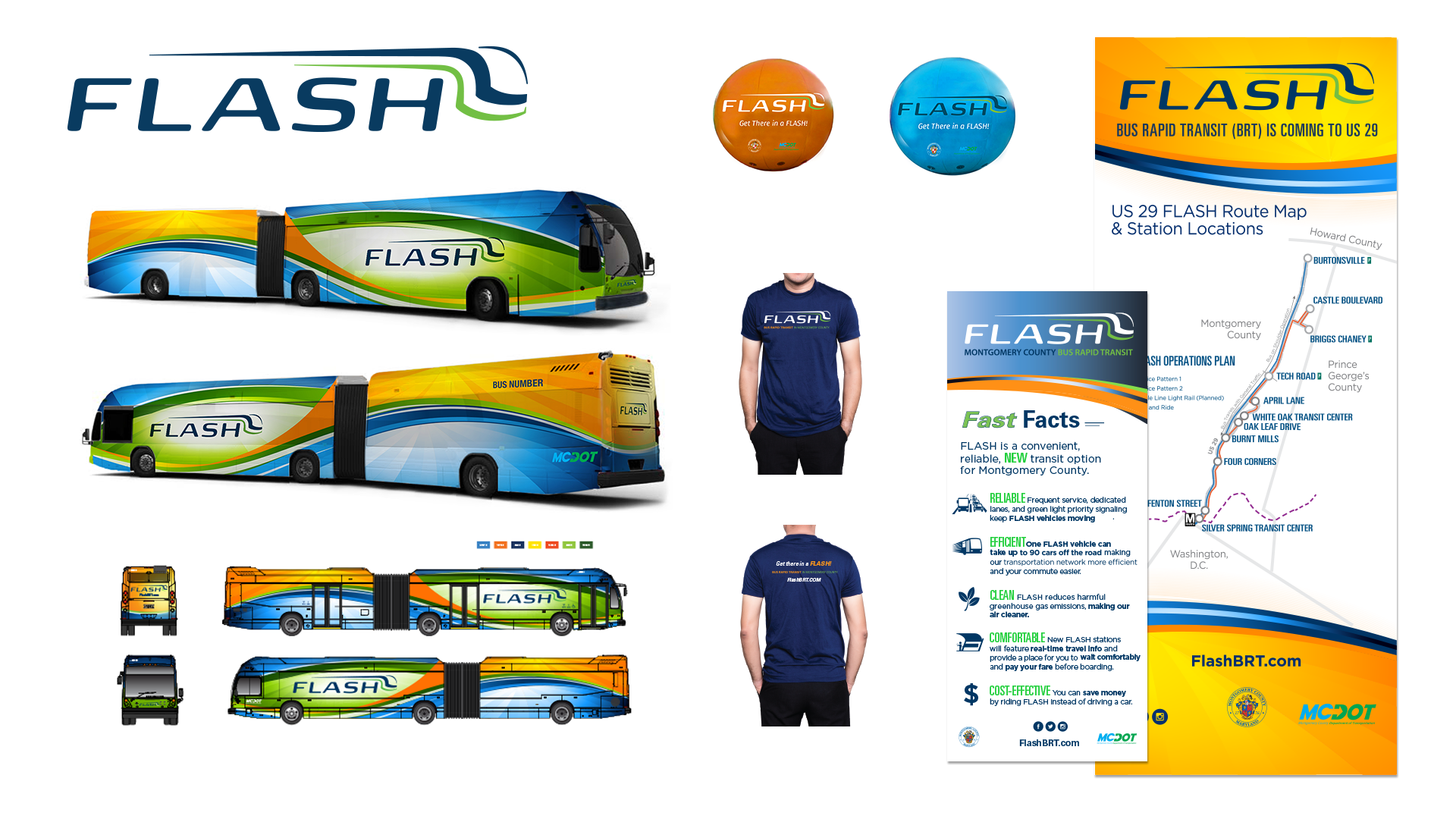 Flash branding/creative campaign platform with colors, styles, messaging